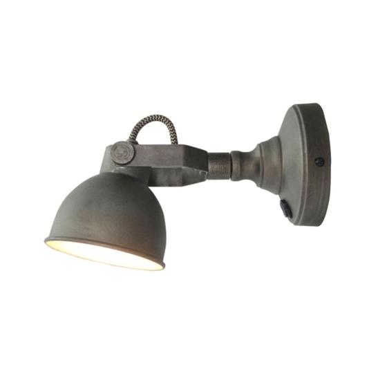 LED_Wandlamp_Bow_Burned_Steel_Metaal_14cm_1