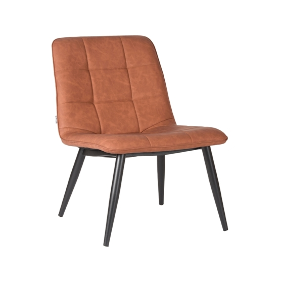fauteuil_james_cognac_pu_zwart_metaal_60x73x80_cm_perspectief